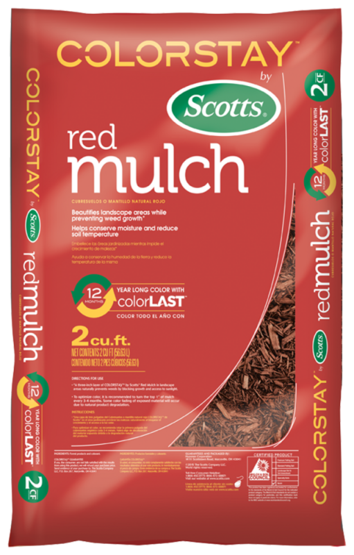 Colorstay Mulch Red