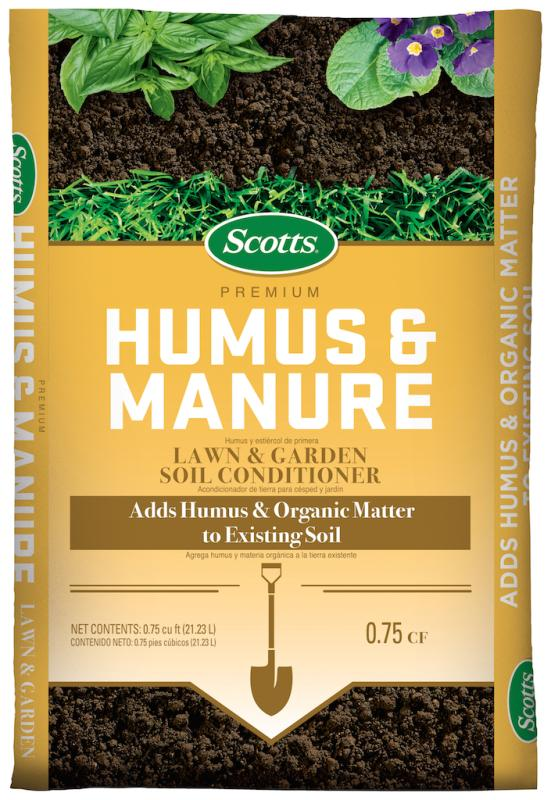 scotts humus and manure