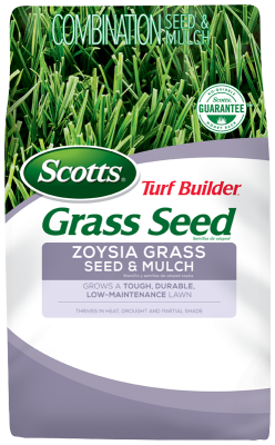 Scotts® Turf Builder® Grass Seed Zoysia Grass Seed & Mulch