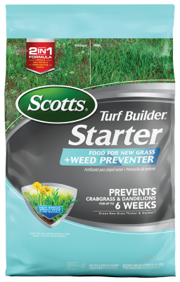 Scotts® Turf Builder® Starter® Food For New Grass Plus Weed Preventer