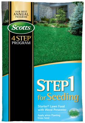 Scotts® STEP® 1 For Seeding - Starter® Lawn Food with Weed Preventer