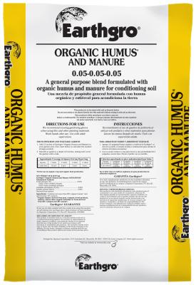 Earthgro® Organic Humus and Manure