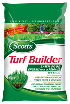 Scotts® Turf Builder® Lawn Food 30-0-3 with 2% Iron