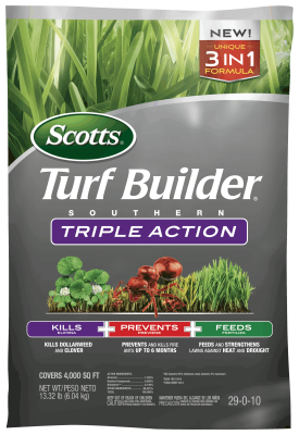Scotts® Turf Builder® Southern Triple Action