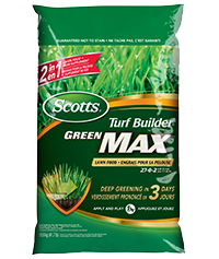 Scotts® Turf Builder® Green Max TM Lawn Food 27-0-2 with 5% Iron