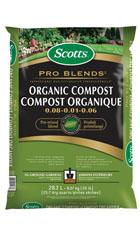 Scotts® Pro Blends TM Organic Compost 0.08 - 0.01 - 0.06