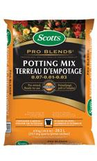 Scotts® Pro Blends TM Potting Mix 0.07 - 0.01 - 0.03