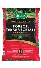 Scotts® Pro Blends TM Topsoil 0.05 - 0.01 - 0.05