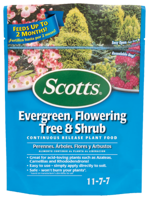 Scotts® Evergreen, Flowering Tree & Shrub Continuous Release Plant Food