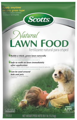Scotts® Natural Lawn Food
