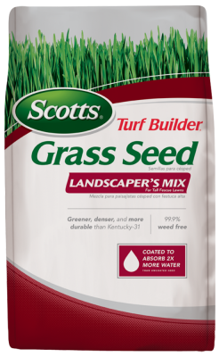 Scotts® Turf Builder® Grass Seed Landscaper's Mix for Tall Fescue Lawns