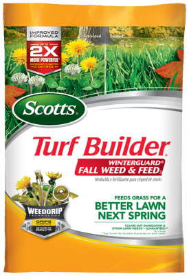 Scotts® Turf Builder® WinterGuard® Fall Weed & Feed₃