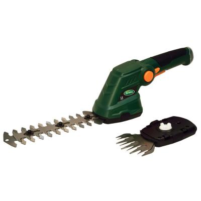 7.2-Volt Lithium-Ion Cordless Grass and Shrub Shear 2 Ah Battery and Charger Included