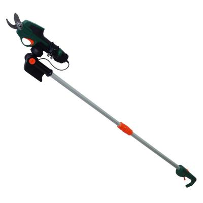 7.2-Volt Electric Cordless Telescoping Pole Pruner 2 Ah Battery and Charger Included