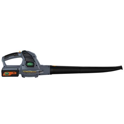 130 MPH 71 CFM 24-Volt Lithium-Ion Cordless Handheld Leaf Blower 2.5 Ah Battery and Charger Included
