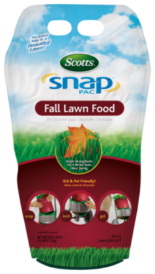 Scotts® Snap® Pac Fall Lawn Food