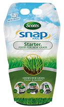 Scotts® Snap® Pac Starter® Food For New Grass