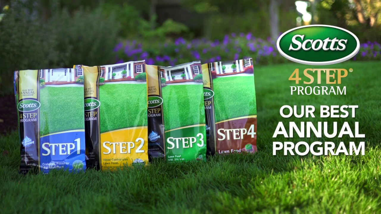Scotts® 4-STEP® Program - Our Best Annual Program For Your Lawn