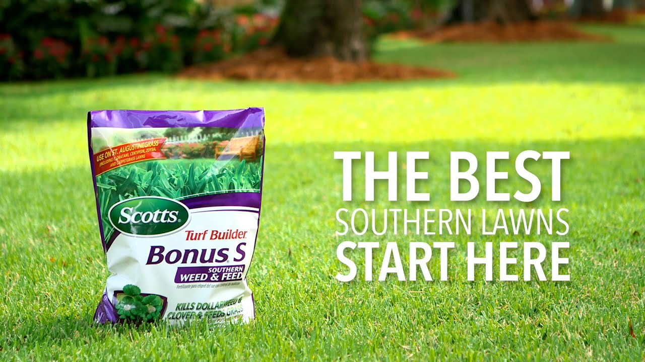 Scotts Turf Builder Bonus S Southern Weed and Feed - Lawn
